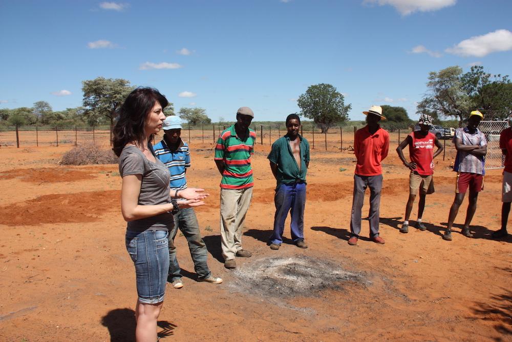Reisebericht Dezember Unter Der Heissen Sonne Namibias Entsteht Ein