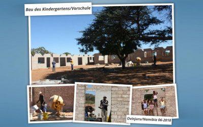 Demnächst: Bautrupp-Einsatz für Ewe-Retu Kindergarten in Namibia