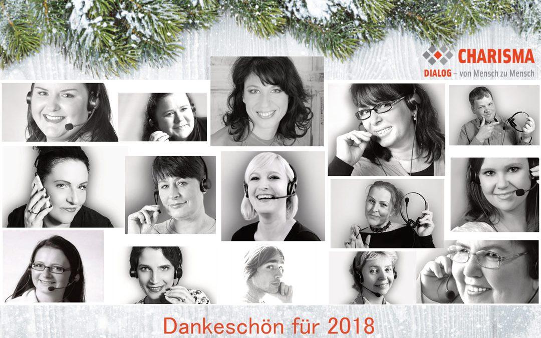 Weihnachtliche Grüße von den Charisma-Mädels
